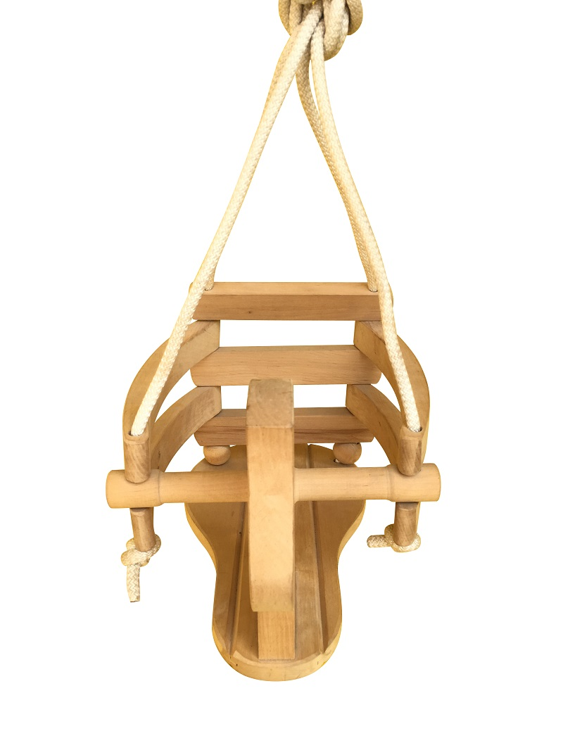 Children Wooden Horse Swing 88-76
